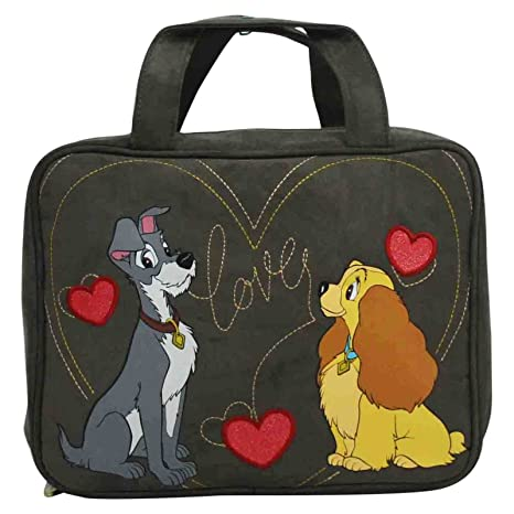 Disney La Dama y el Vagabundo Make Up Bag Bolsos Neceser ...