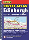 Philip's Street Atlas Edinburgh and East Central Scotland: Spiral Edition