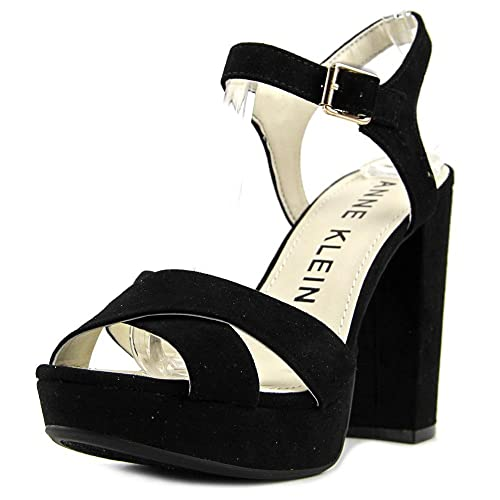 23a7f374db1f Anne Klein Lalima Women US 7.5 Black Platform Heel  Amazon.ca  Shoes ...