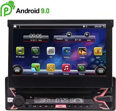 7 Pulgadas Android 9.0 estéreo navegación del GPS para vehículos ...