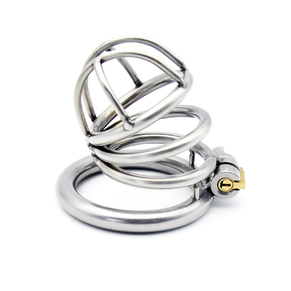 Raycity Male Chastity Cage Device (45mm Ring) 119