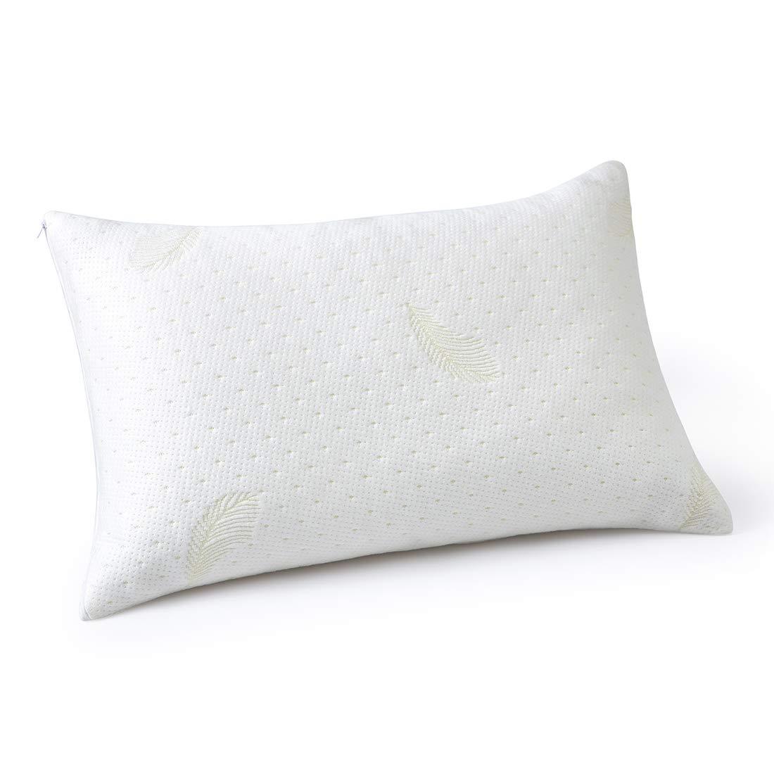 Eastar Zippered Pillow Protector Pillowcase,Queen Size 20x30
