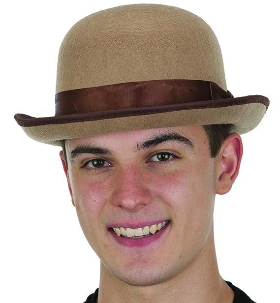 4f553adda7d Amazon.com  Jacobson Hat Company Men s Roaring 20 s Tan Felt Derby ...