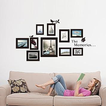 MercurymallRWandtattoo Fotorahmen Bilderrahmen Verschiedene Rahmen Deko Fr Wohnzimmer