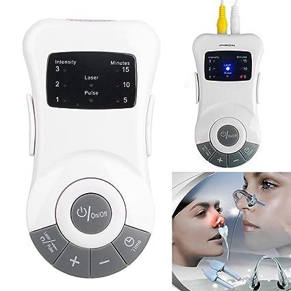 Aozzy Tratamiento de rinitis aparato para aliviar alergias - dispositivo anti congestión mediante fototerapia,masajeador