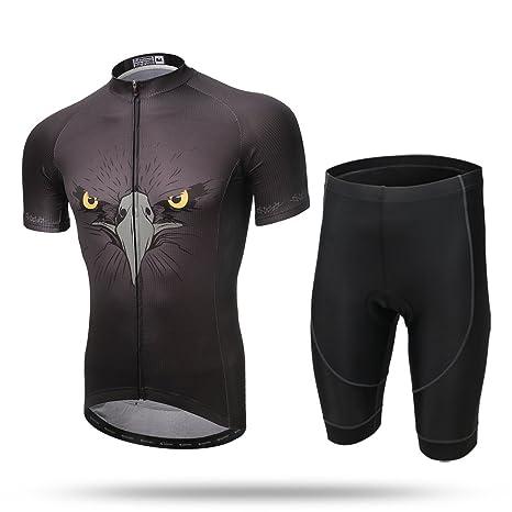 Xintow Men s Cycling Jersey 3d Padded Road Bicycle Bib Shorts Clothing  Racing Short Sleeve Shirts Sportwear 07a1e5843