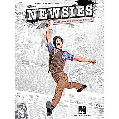 Hal Leonard Newsies - Music From The Broadway Musical for Piano/Vocal/Guitar Songbook (Newsies Sheet Music)