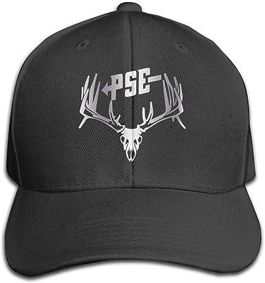 Street Dancing Adjustable Mesh Unisex red-PSE-Archery-Logo-Baseball Hats Cap