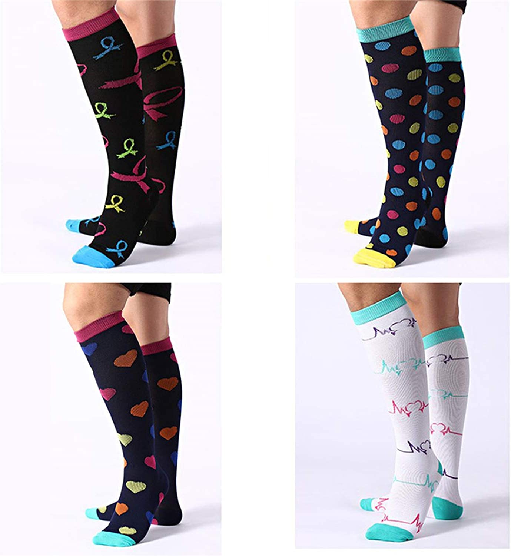 Unisex stockings knee socks Compression long socks Athletic Running Sports socks