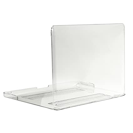 new style 8b1ca b5379 TopCase CLEAR Crystal See Thru Hard Case Cover for Macbook Pro 13-inch 13