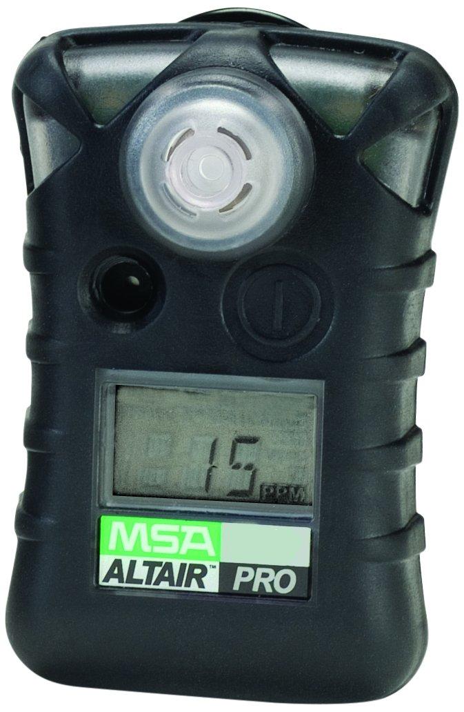MSA 10076729 ALTAIR PRO Single Gas Detector, Hydrogen Cyanide (HCN), Low Alarm 4.5 PPM, High Alarm 10 PPM