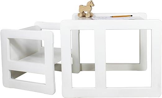 Obique 3 en 1 Muebles para Niños, Juego de 2, Una Pequeña Silla ...
