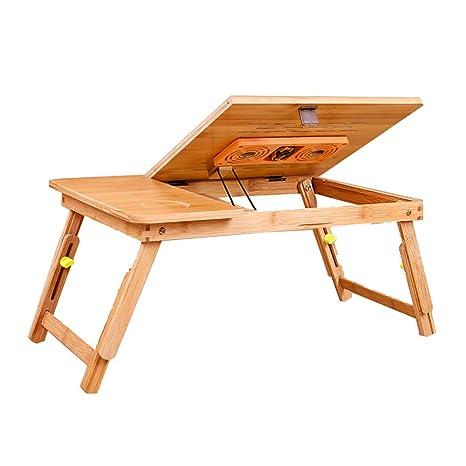 YNN Laptops Plegable portátil Ajustable de Mesa PC portátil de Escritorio Soporte de Escritorio sofá de