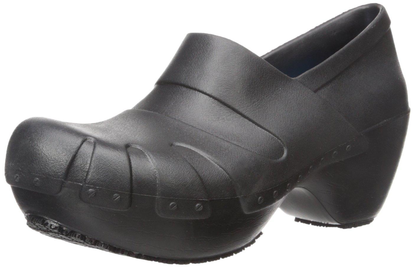 Dr. Scholl's Women's Trance Slip Resistant Clog, Black, 11 M US
