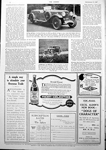 old-original-antique-victorian-print-isotta-fraschini-rolls-cum-bentley-italy-rover-car-1927-627g610