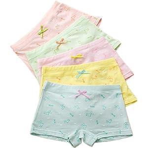 241f7584397c Czofnjesi Girls Boyshort Hipster Panties Cotton Panty Underwear (5 or 6 Pack )