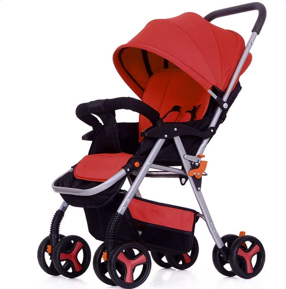 XHSP Lightweight Portable Baby Stroller Infant Newborn Foldable Umbrella Stroller Antihunting Baby Carriage