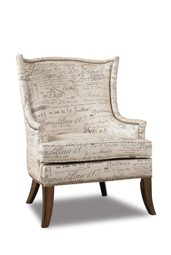 Amazon.com: Hooker Furniture Sanctuary Paris Accent Chair: Kitchen U0026 Dining