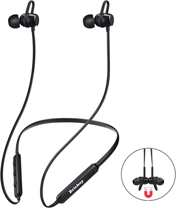 Amazon Com Bluetooth Headphones Wireless Headphones With Bluetooth 4 2 Sweatproof Earphones With Magnetic Earbuds For Sport Outdoor 9 Hours Playtime Sport Headphones For Iphone X 8 7 Plus Samsung And Androi