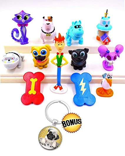 Amazon.com: Puppy Dog Pals Party Supplies - Toppers Premium ...