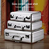 Tokers Metal briefcases for men Aluminum Attache
