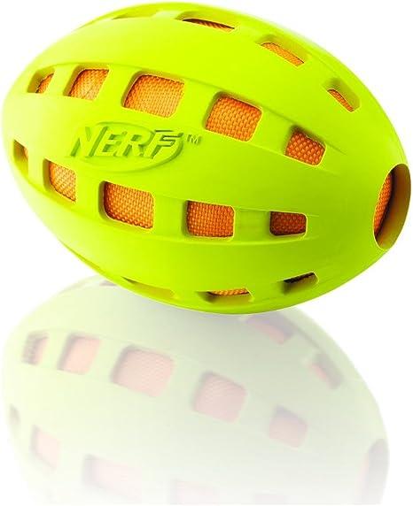 Nerf Chew - Balón de fútbol para Perros, Color Verde: Amazon.es ...