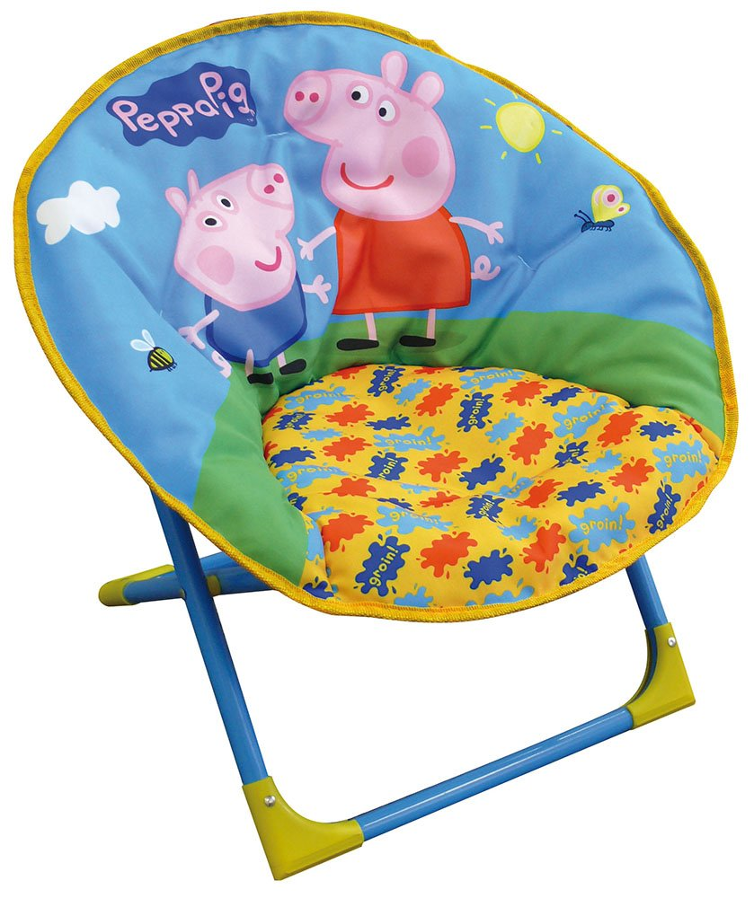 712264 PEPPA PIG Si/ège lune pliable Fun House