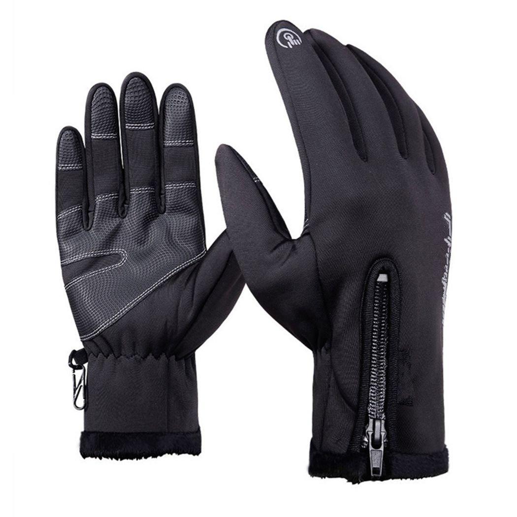 Men Knitted Gloves Touch Screen Male Thicken Warm Gloves Winter Autumn Men Mitten Men Winter Business Knitted Glove