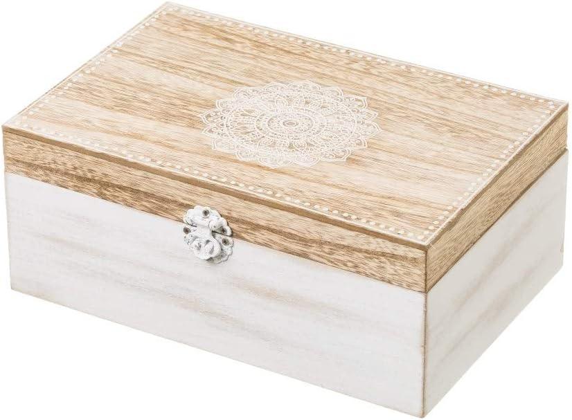 Caja de infusiones de madera blanca moderna para cocina Arabia ...