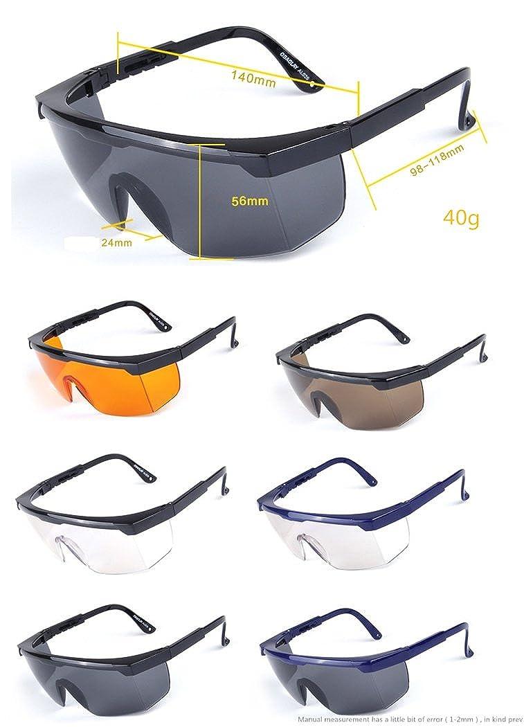 Durchsichtige Schutzbrille Arbeitsplatz Augenschutz Arbeitsschutzbrille Windstaub Anti-Fog-Schutzbrille f/ür medizinische Zwecke Durchsichtig
