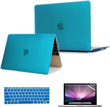 "Key Retina display 3in1 AQUA BLUE Crystal Case for  Macbook Pro15/"" A1398 LCD"