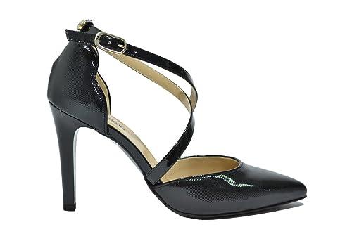 NERO GIARDINI D collet scarpe donna nero 9710 elegante mod. A719710DE
