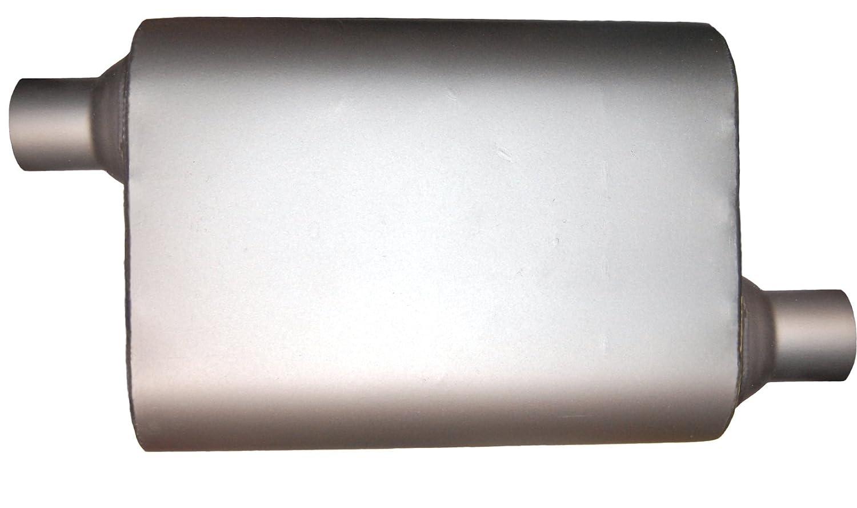 Jones Exhaust Systems MF1236 4 x 9 Oval 14' Muffler 20' Overall 2 1/2' X 2 1/2'