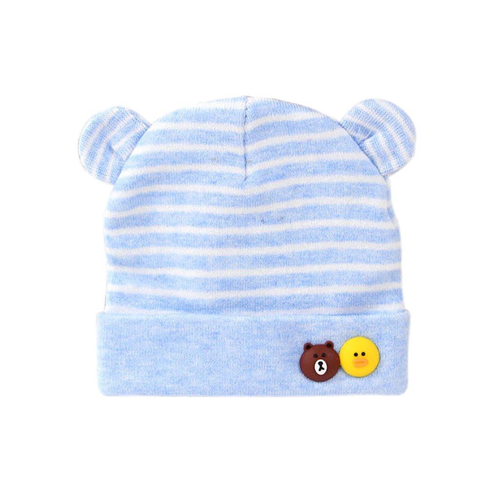 Outflower 0-24 Monate Unisex Babys Mützen Baumwolle Cap Strickmütze Winter Warme Mütze für Jungen und Mädchen, Baby Hüte, 36-44 CM Baby Hüte