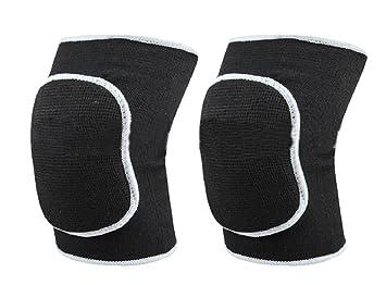 Rodilleras unisex de HugeStore, rodilleras para voleibol o danza, gruesas, transpirables, refuerzo protector para rodillas, vendaje protector: Amazon.es: ...