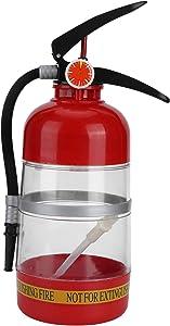 Fire Extinguisher Shape 2L Delicate Liquor Dispenser, Portable Acrylic Beer Dispenser, Home Banquet Hotel for Beer Camping Beverage Cocktail Liquor Wine