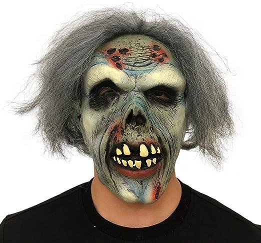 HOCOL Máscara de Halloween, máscara de Diablo de cadáver seco de ...