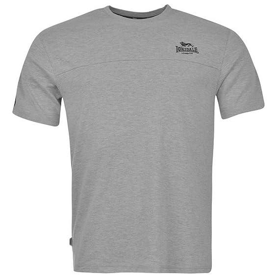 Lonsdale - Camiseta - Cuello Redondo - para Hombre: Amazon.es ...