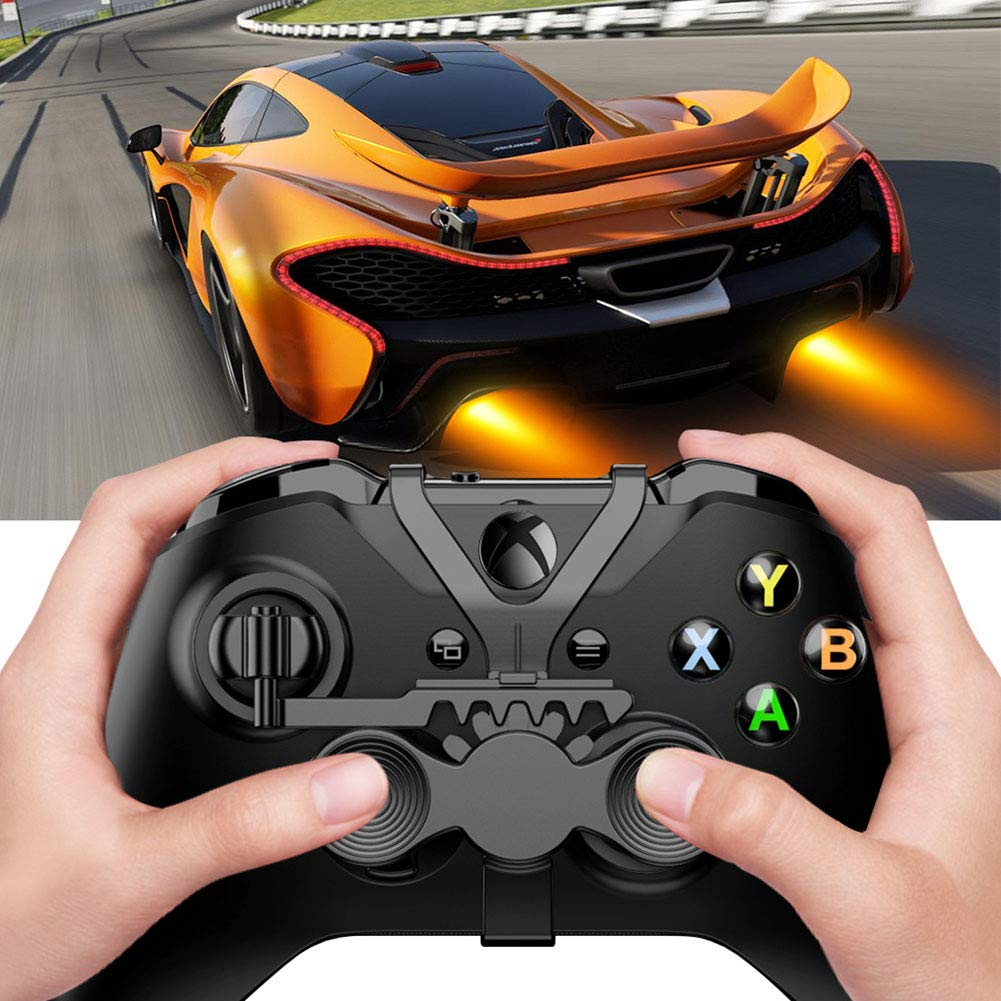 Liamostee Mini Steering Wheel for Game Controller Auxiliary Replacement Accessories