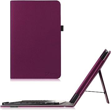 Fintie LG G Pad 10,1 teclado Funda con Soporte extraíble Bluetooth inalámbrico teclado para LG G Pad V700/VK700 LTE Verizon 10.1-inch Tablet