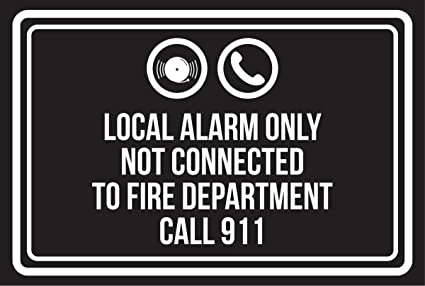 Amazon.com: Local Alarm Only Not Connected To Fire ...