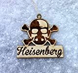 HEISENBERG Christmas Ornament Breaking Bad Ornament Breaking bad Gift HEISENBERG Ornament HEISENBERG Christmas Tree Ornament Walter White