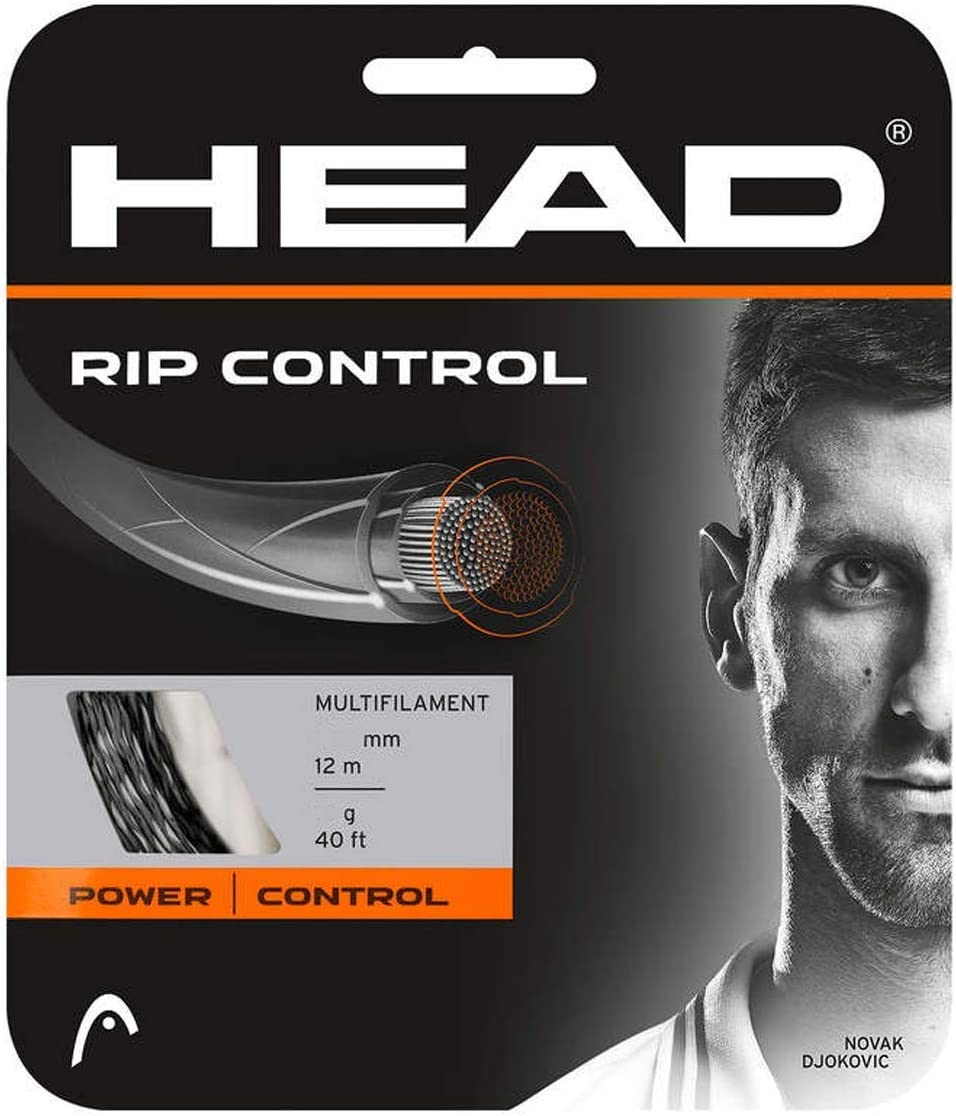 HEAD Rip Control schwarz 12m multifilamente Tennissaite