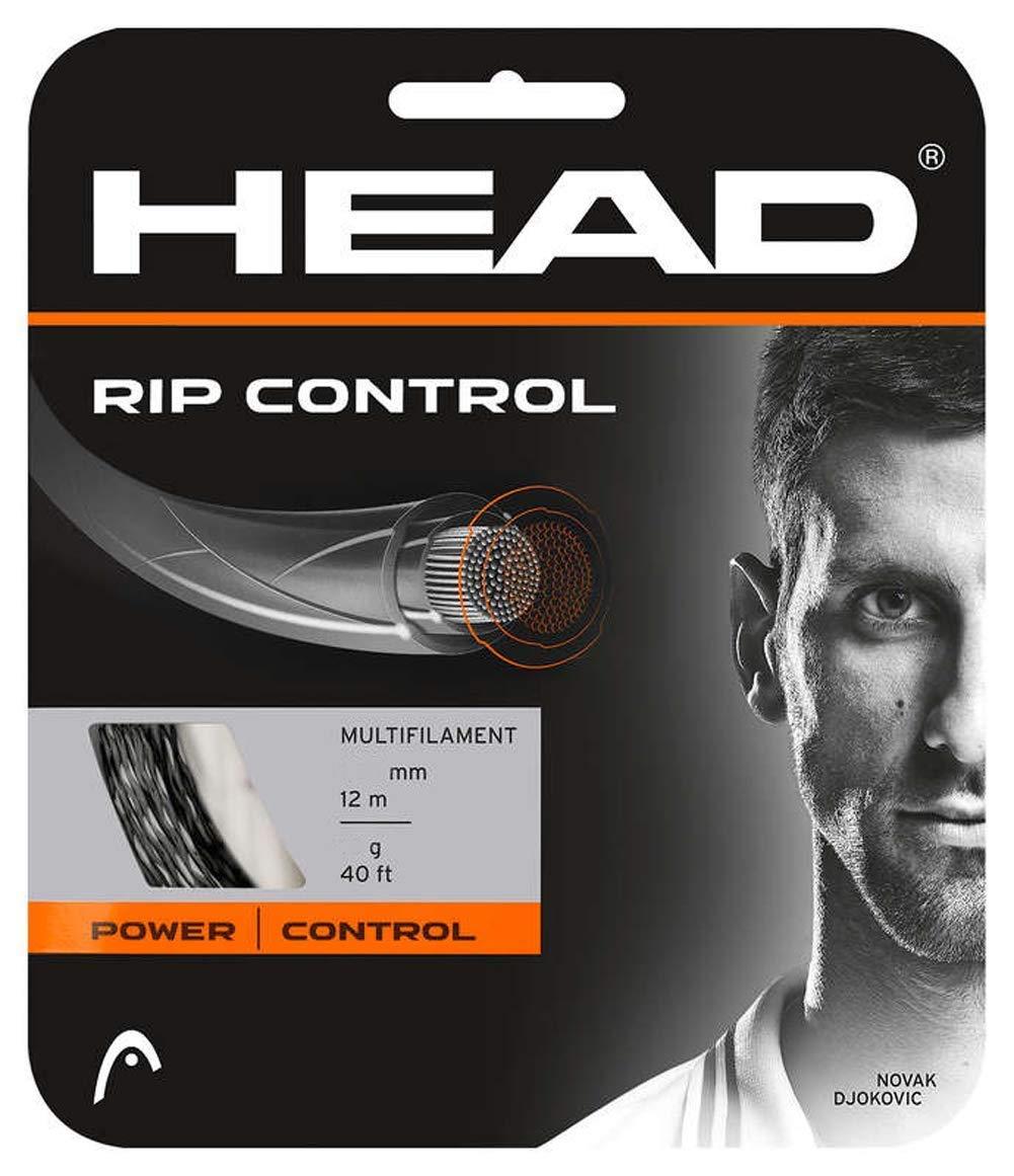 HEAD Rip Control Noir 12m Corde de Tennis multifilament