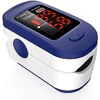 Oxímetro de Pulso, AGPTEK Pulsioxímetro de Dedo Digital con Pantalla LED para Medición…