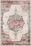 Lux Weavers 2937 Multi colored Oriental 8 x 10 Area Rug Carpet Large New For Sale