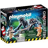 Playmobil Ghostbusters: Venkman, Dana y Perros de Gozer