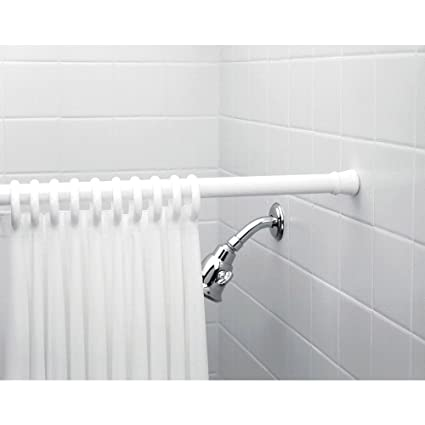 Freelance Shower Curtain Expandable, Extendable, Adjustable, Spring, Tension Pole Heavy Duty Rod, 43�-76