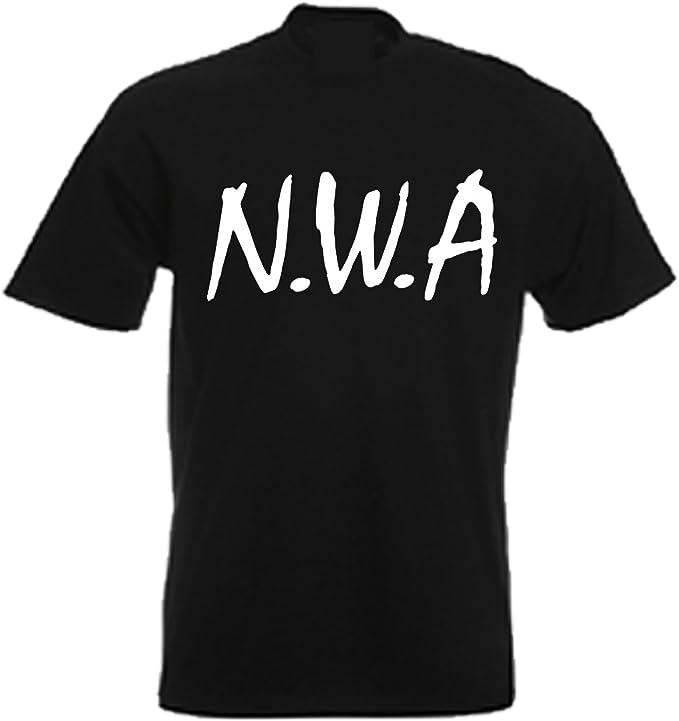 Camiseta con diseño simple y texto