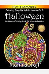 Coloring Book for Adults: MantraCraft Halloween: Halloween Coloring Book for Adults Relaxation Paperback